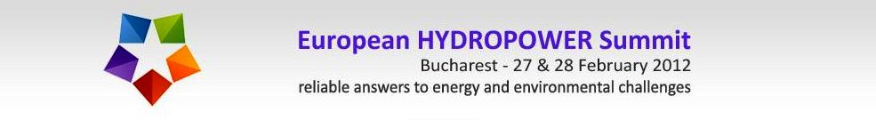 European HYDROPOWER Summit